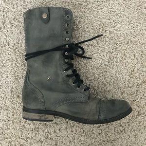 Combat Lace up boots